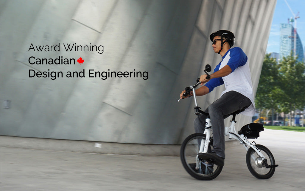 Revelo FLEX ebike, award winning design from Toronto, Canada