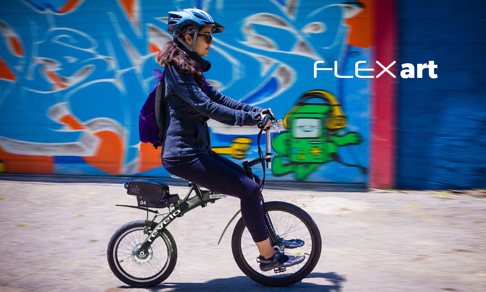 Revelo FLEX folding electric bike, a work of art and quality build