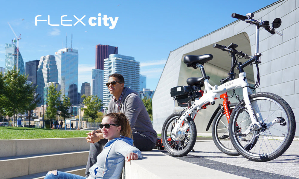 Revelo FLEX folding electric bike city commuter