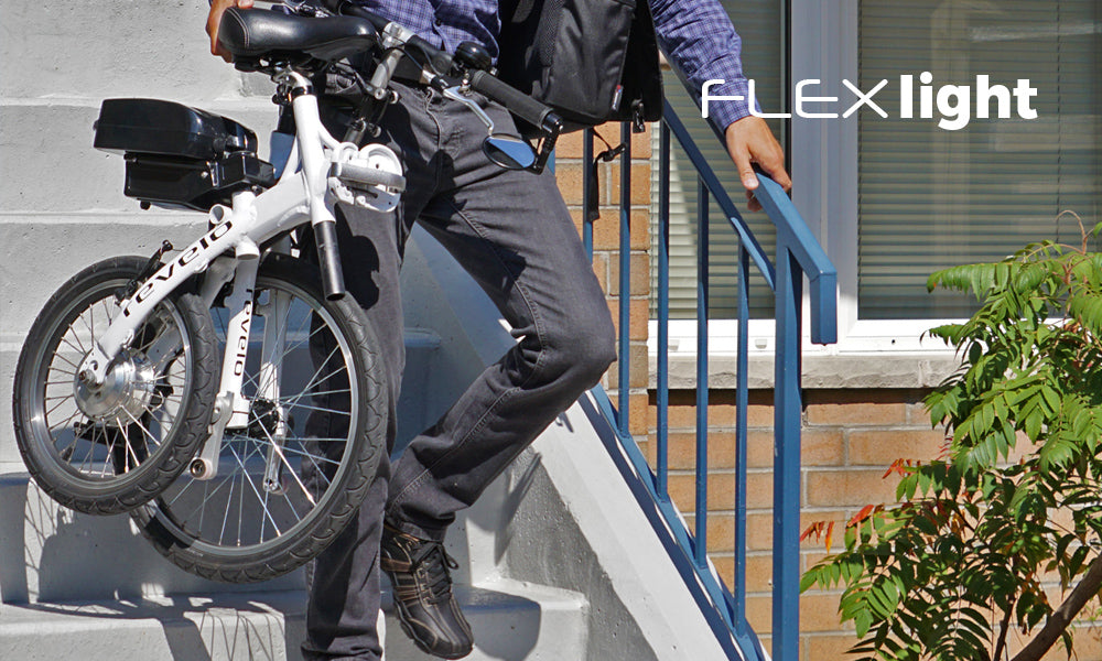 Revelo FLEX folding electric bike lightweight