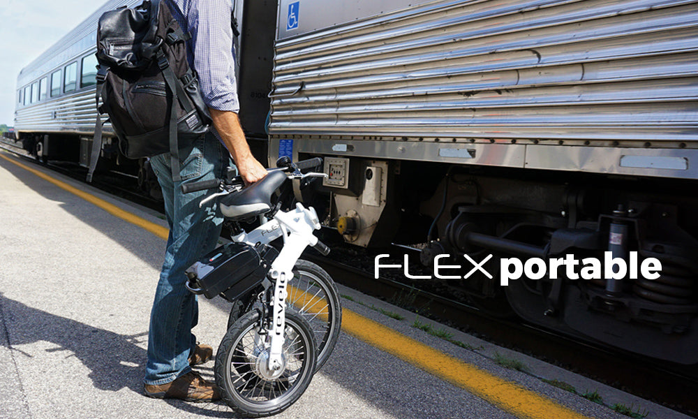 Revelo FLEX folding electric bike simplifies your commute