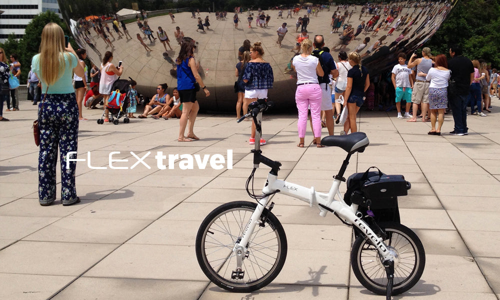 Revelo FLEX folding electric bike, designed in Toronto, built to move the world.