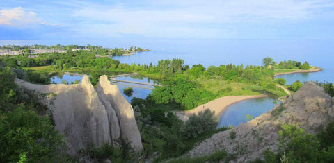 Scarborough Bluffs View, accessible by FLEX