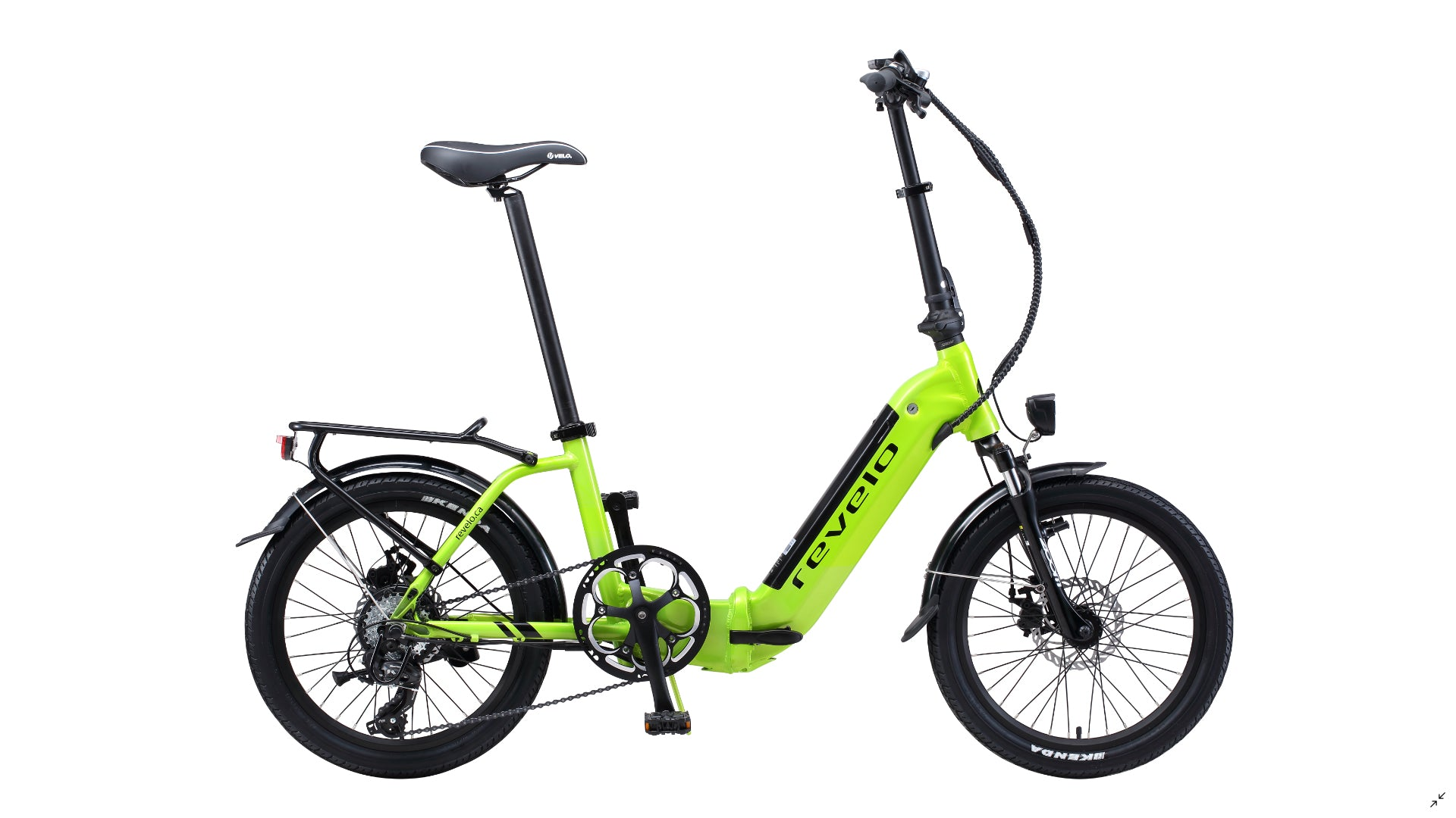 Revelo FLEX folding bike combines extreme portability with a robust riding experience