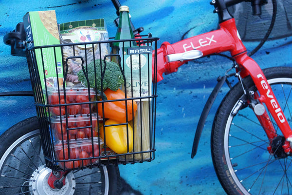 Shopping made simple, with the FLEX and basket