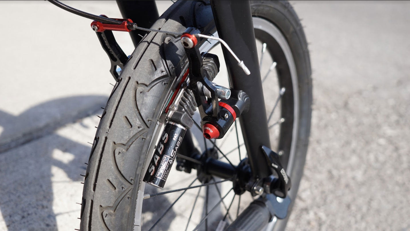 THINstem folding stem to store your bike anywhere