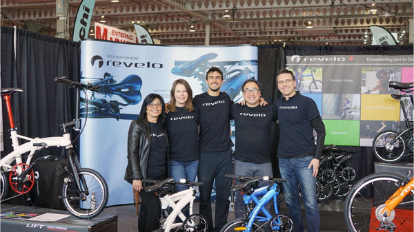 Revelo team Toronto International Bike Show