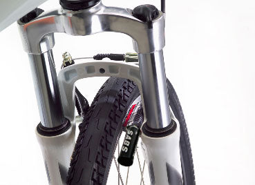 THINstem quick release stem and alloy folding pedals for ultimate thin portability