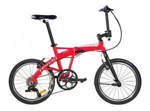"Revelo LIFT 20"" Sport folding bike in red"