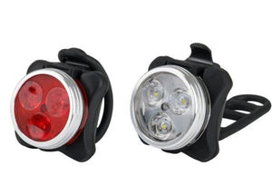 LED USB Light set (one white and one red)