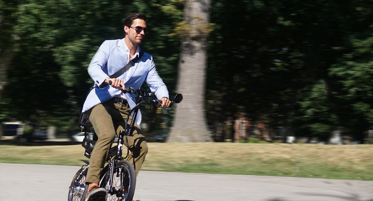 FLEX Electric Bike, 28km/h Fast, Innovative Tech, Canadian Design