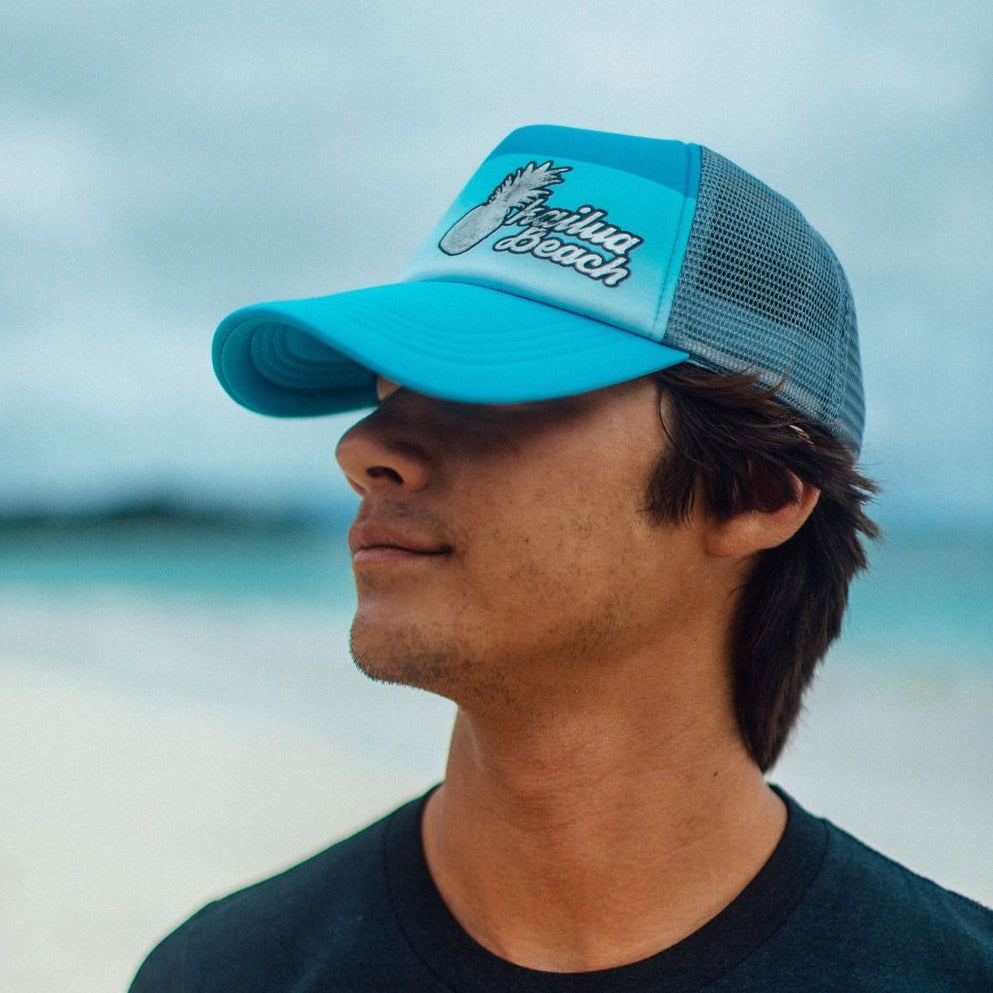 Kailua Pineapple Mesh Trucker Hat