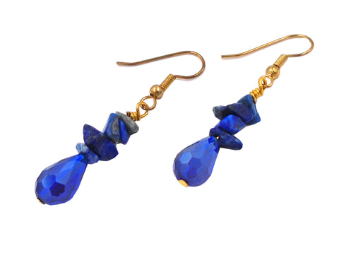 Blue lapis Hanging Earrings