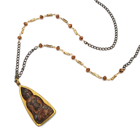 Burmese Buddha Pendant Necklace
