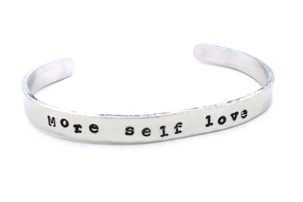 More Self Love Cuff Bracelet
