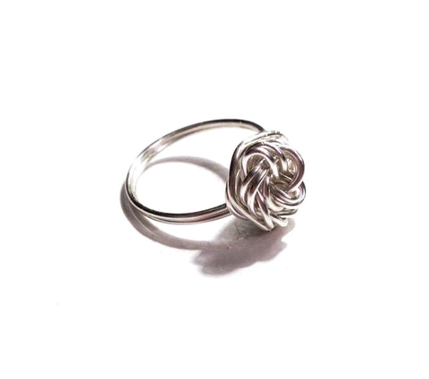 """Tie the Knot"" Ring"