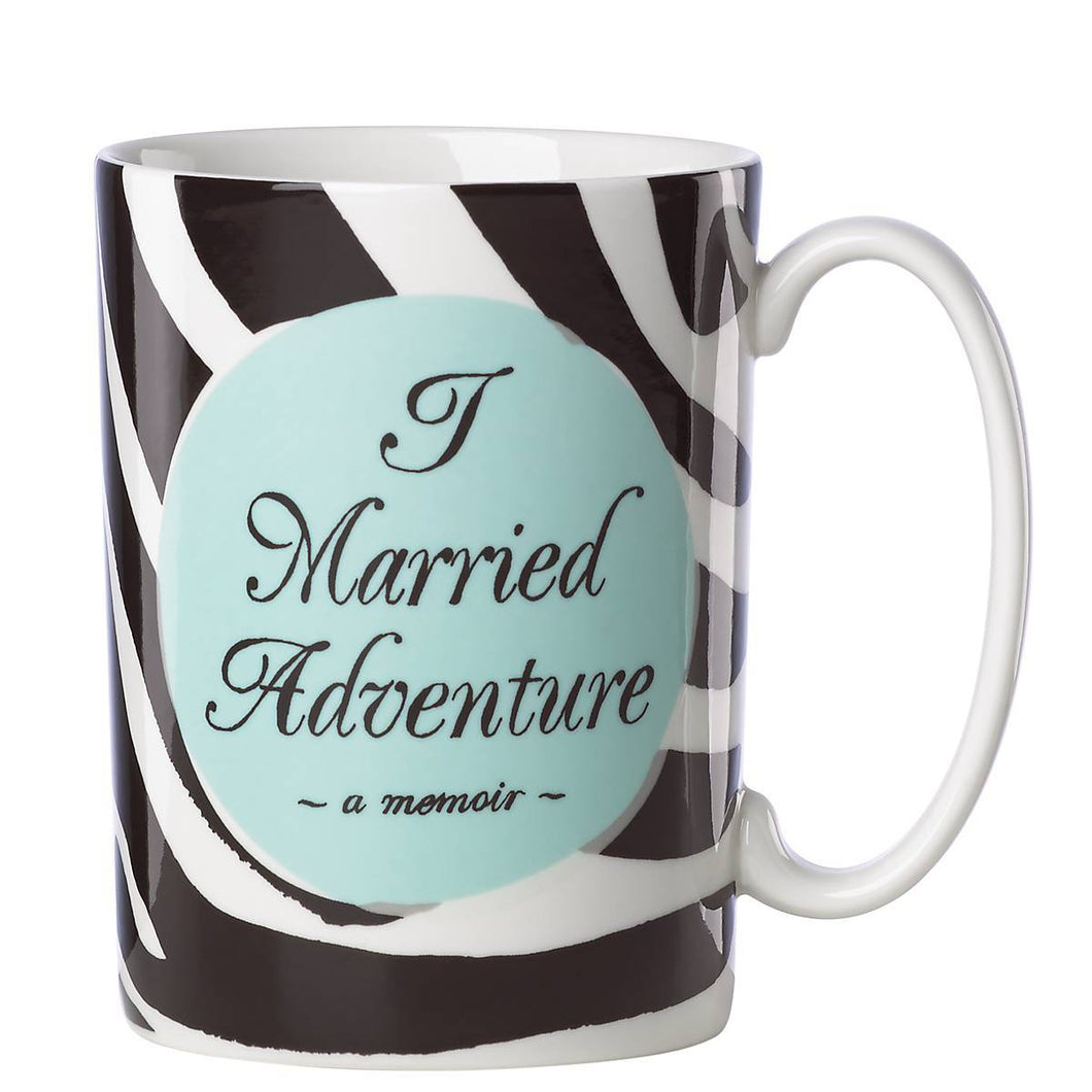 I Married Adventure Mug