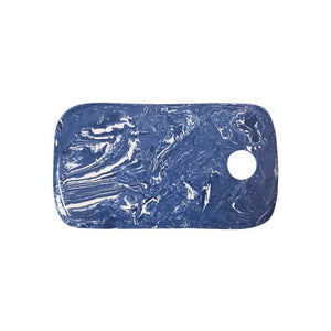 Cobalt Marble Ceramic Cheese Board