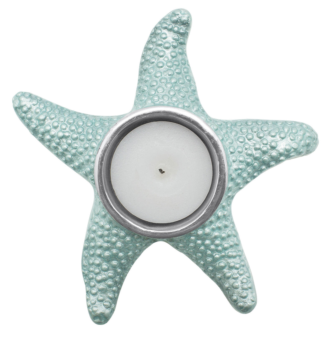 Aqua Starfish Tea Light