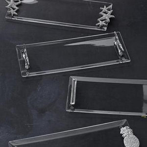 Signature Handle Acrylic Tray