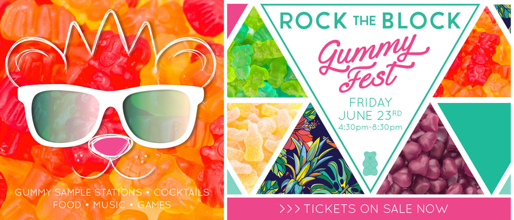Rock the Block Gummy Fest