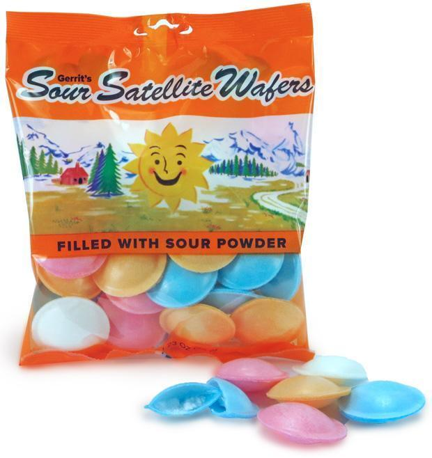 Sour Satellite Wafers