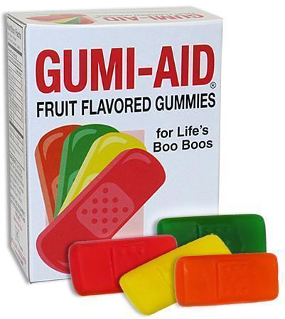 Gummy Band Aids Gumi - Aid
