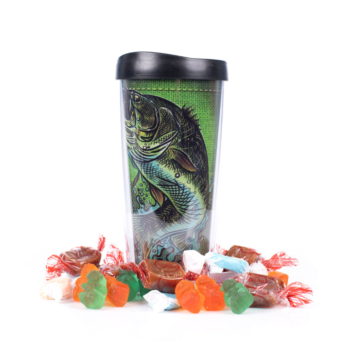 Rather Be Fishing Candy Filled Tumbler