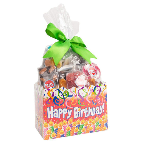Sweet Box Happy Birthday Gift Basket