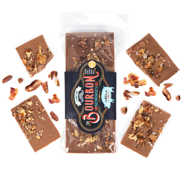 Sir Bourbon Baconsworth Chocolate Bar