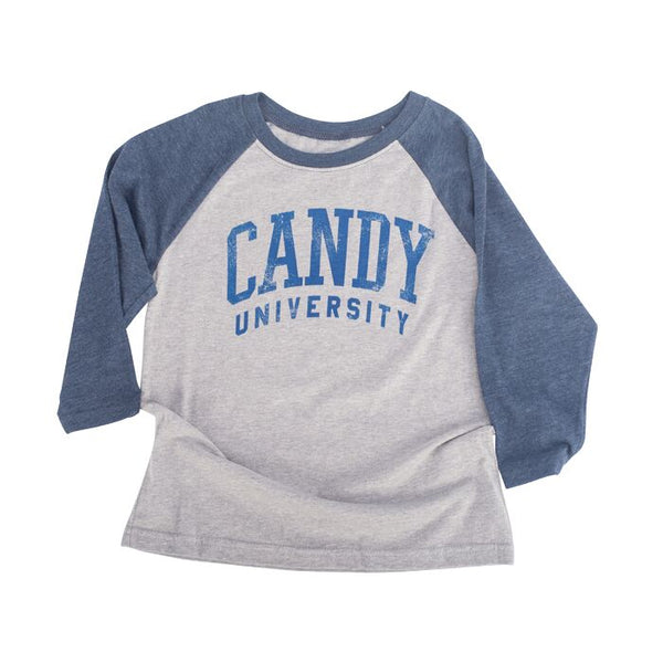 Kids Candy University Baseball Tee