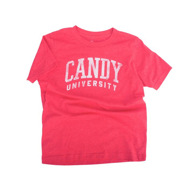 Candy University Tee Red