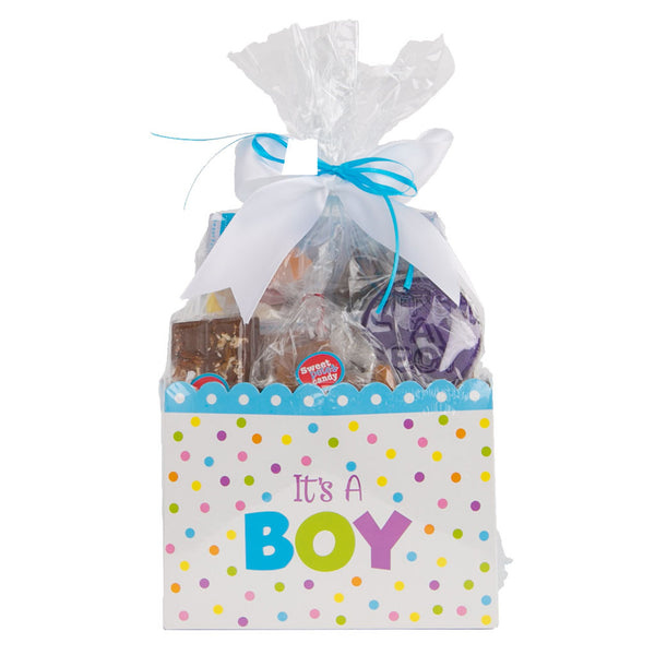 Sweet Box Basket It's A Boy Vegan