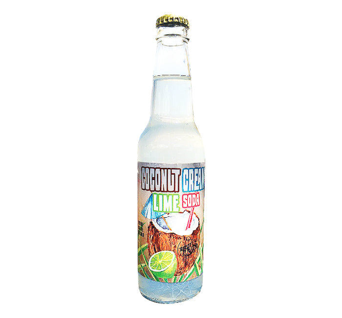 Coconut Cream Lime Soda