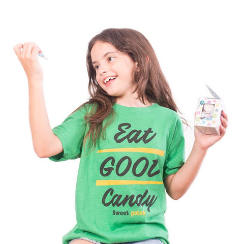 Kids Shirt Eat Good Candy