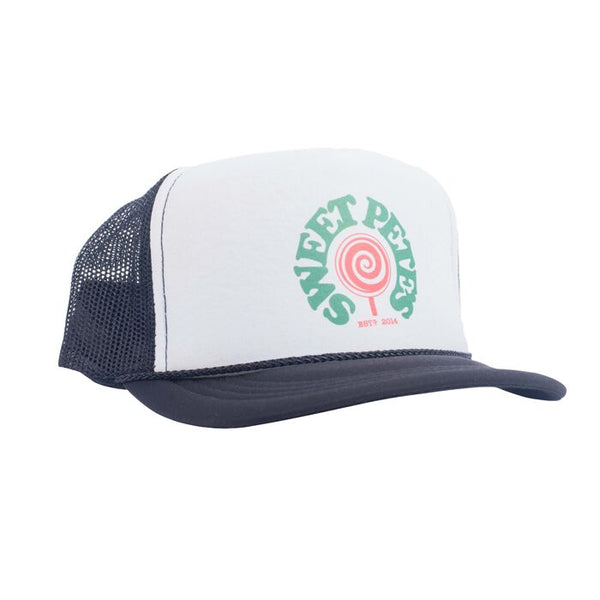 Sweet Pete's Hat Lollipop Logo
