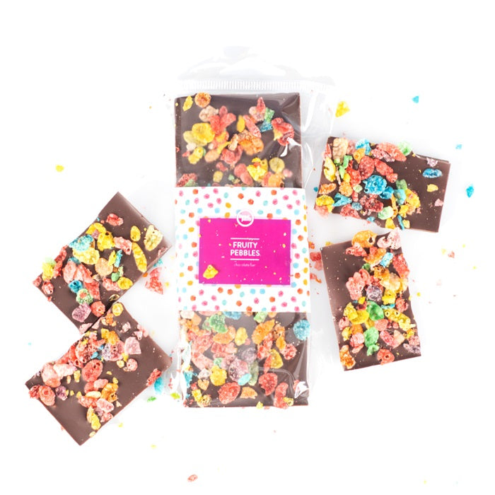 Fruity Pebbles Chocolate Bar