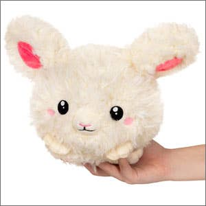Plush Squishable Fuzzy Bunny