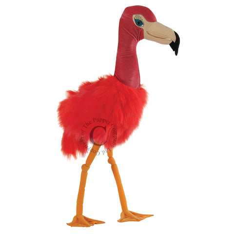 Puppet Giant Bird Flamingo