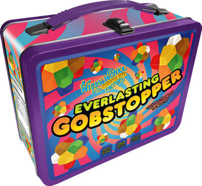Everlasting Gobstopper Willy Wonka Lunchbox