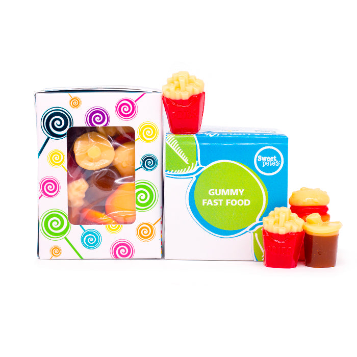 Gummy Fast Food Gift Box