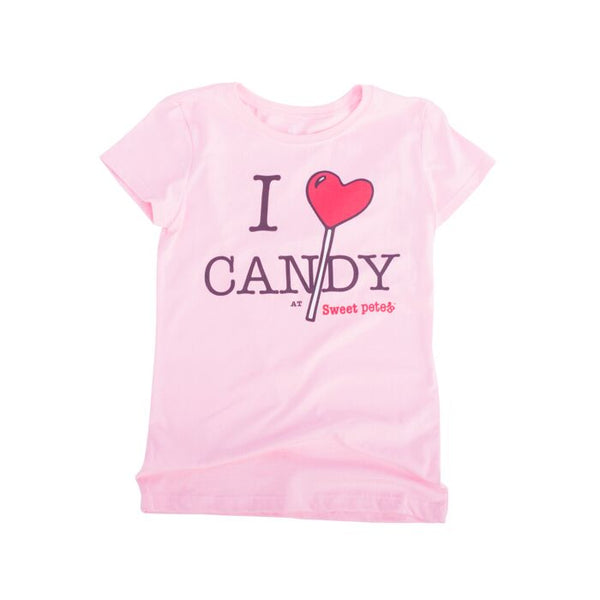 I heart Candy Kids Tee