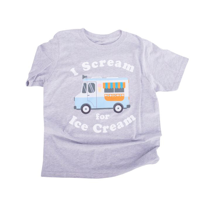 Childs Tee I Scream for Ice Cream