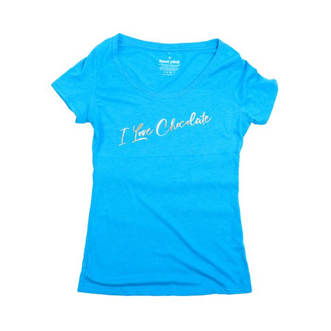Tee I Love Chocolate Ladies Fitted