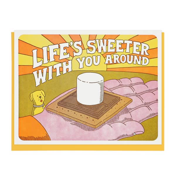 Life's Sweeter with You Around Card