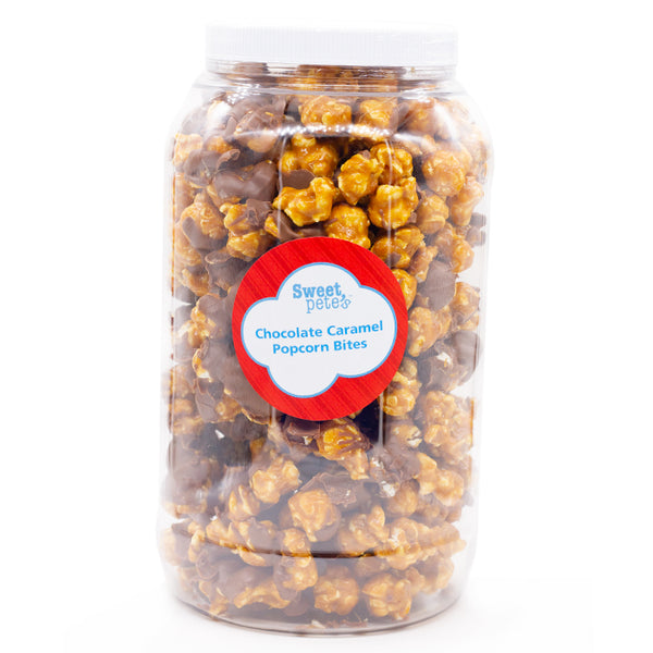 Milk Chocolate Caramel popcorn