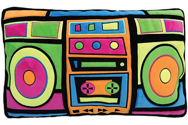 Pillow Boom Box