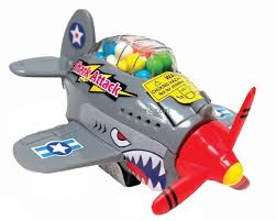 Shark Attack Candy Plane