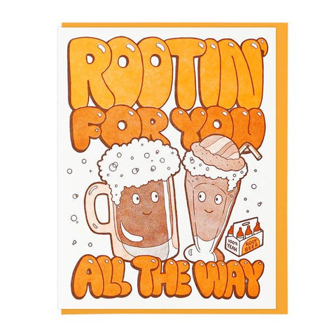 Rootin For You Greeting Card