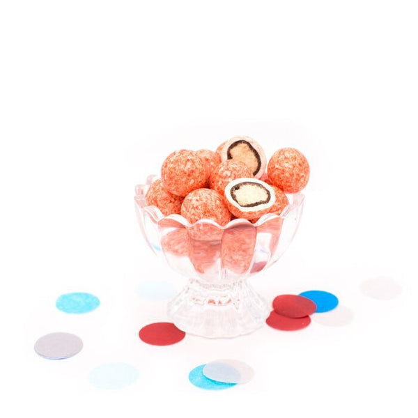 Strawberry Shake Malt Balls Party Pack Bulk Candy